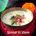 Boondi Ki Kheer