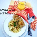 Buttered Mashed Potatoes