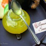 Lemon Sauce