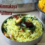 Nimmakaya Pulihora / Lemon Rice