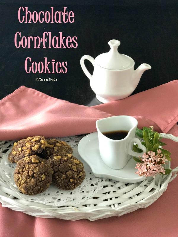 Chocolate Cornflakes Cookies