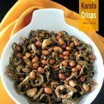 Nutty Karela Crisps / Kakara Keya Vepudu