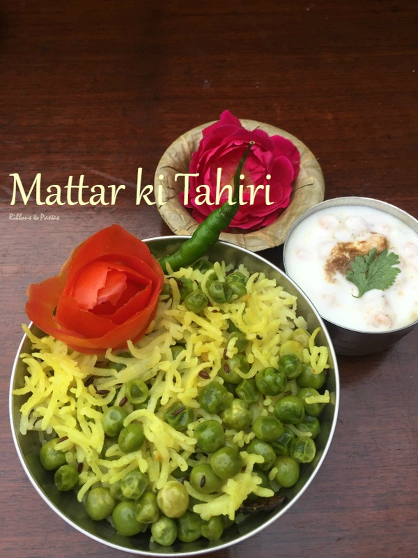 Mattar ki Tahiri , Uttar Pradesh Special