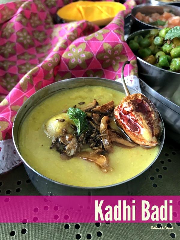 Bihari Thali and Protein Rich Kadi Badi