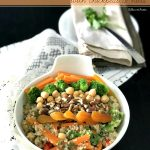 Moroccon Quinoa Salad with protein punch