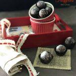 Mocha Chia Seeds Truffles / Protein Rich Energy Bites