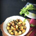 Batata Harra / Lebanese  Spiced Potatoes using airfryer