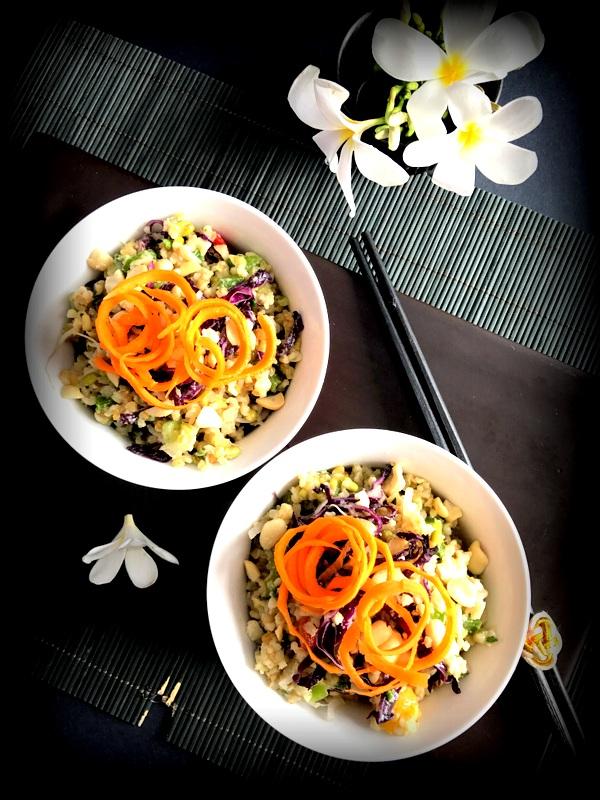 Thai Freekeh Salad