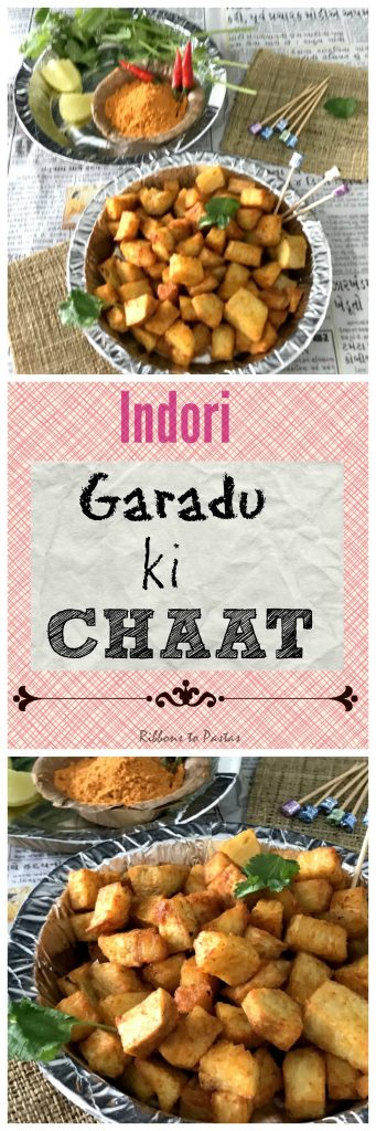 G - Garudu Chaat - Street food from Indore