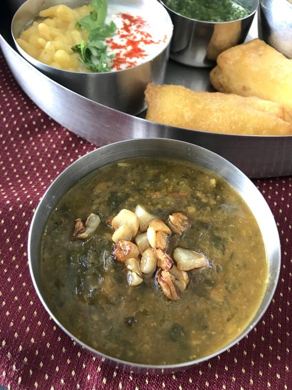 Sindhi Thali with Protein Rich Soybean