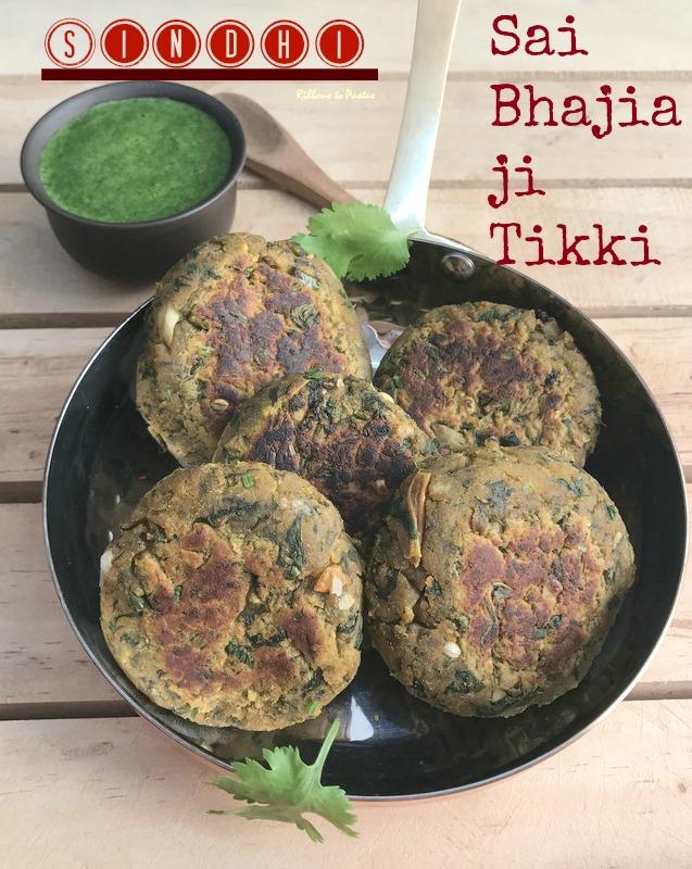 Sindhi Sai Bhajia ji Tikki