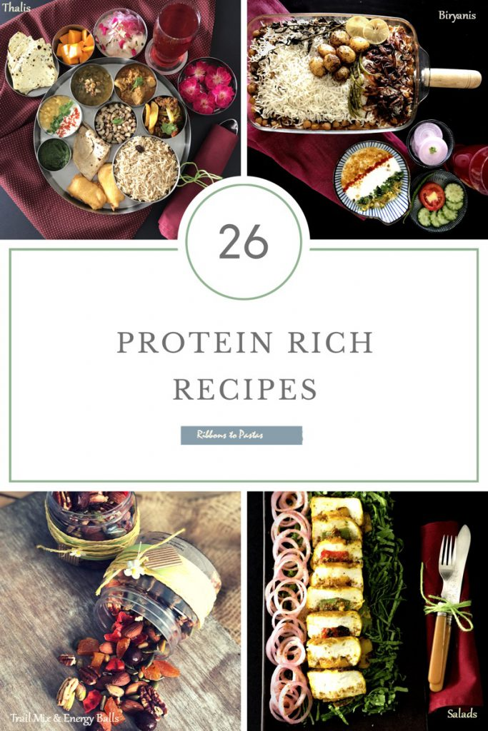 A collection of 26 Protein Rich Recipes