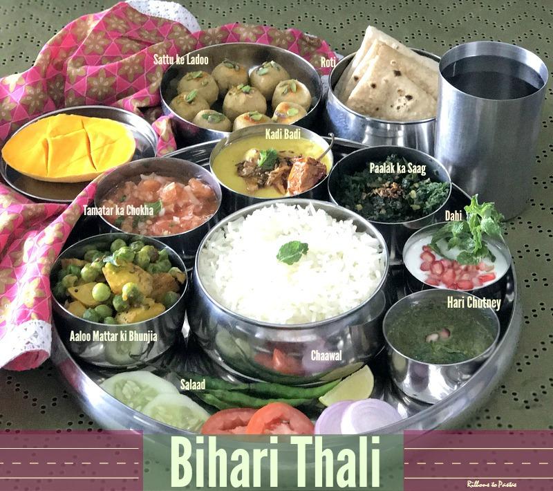 Paalak ka Saag - Bihari style