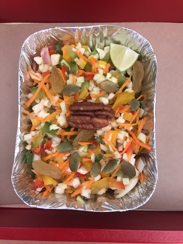 Fruit Nut and Seed Salad