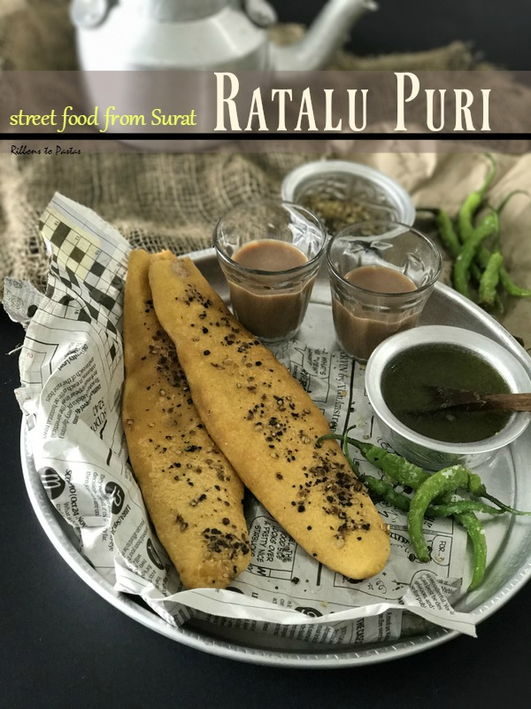 R - Rataalu Poori-street food from Surat