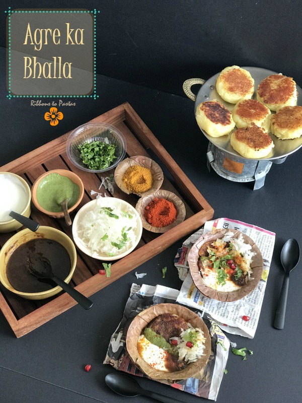 A - Agre ka Bhalla -street food from Agra, UP