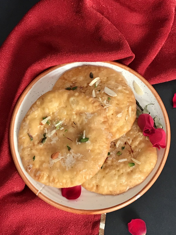 Meethi Mathri , a Punjabi Sweet Flatbread