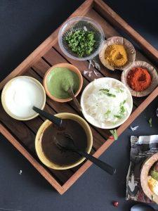 Agre ka Bhalla -street food from Agra, UP