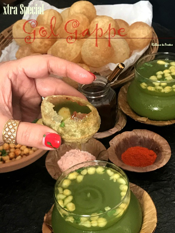 X - Xtra Special Gol Gappe , street food from Delhi