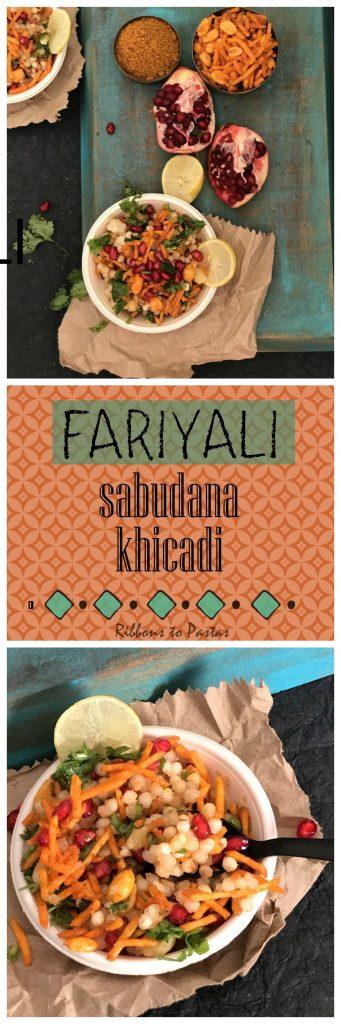 F - Faryali Sabudana Khichadi - Street Food Style