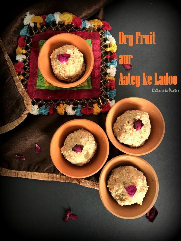 Dry Fruit aur Aatey ke Ladoo