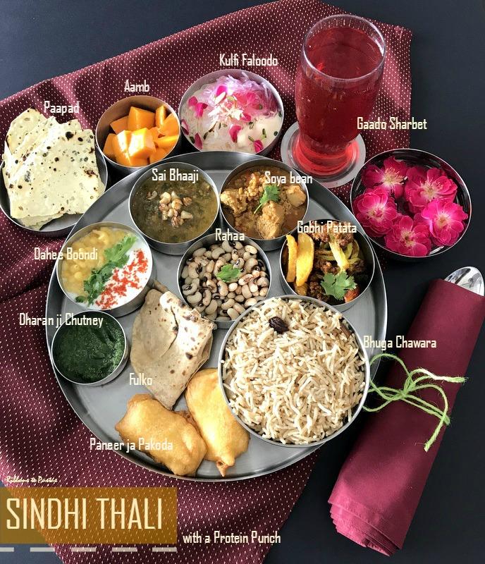 Protein Rich Sindhi Thali