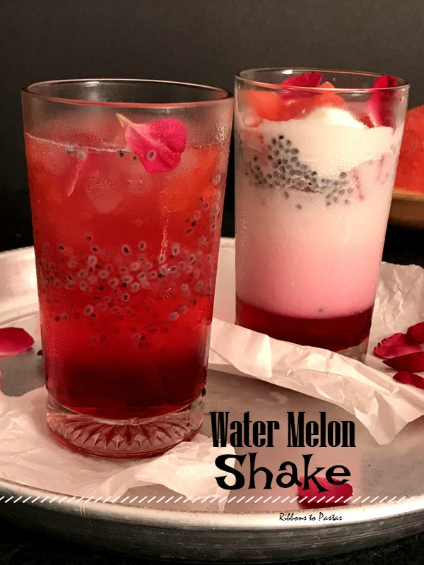 W - Water Melon Shake - Street Food from Old Delhi