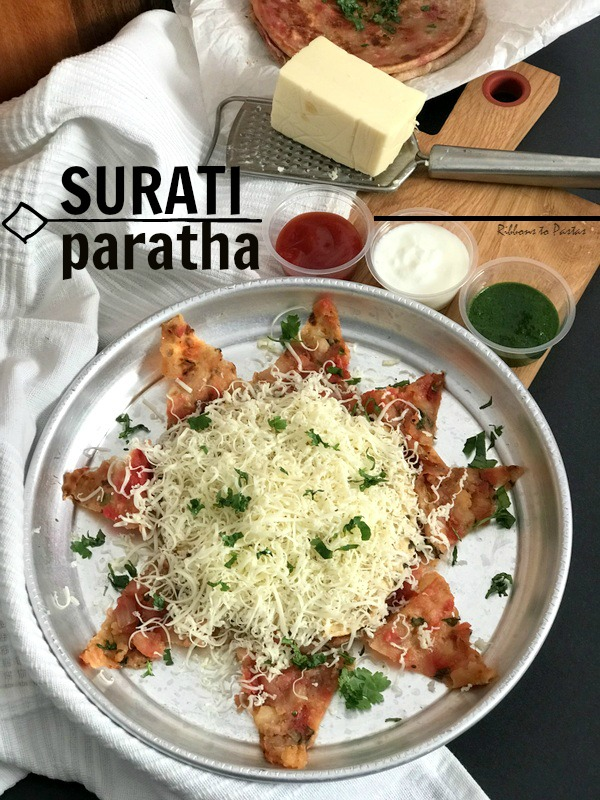 S - Surati Paratha - Street Food from Surat, Gujrat