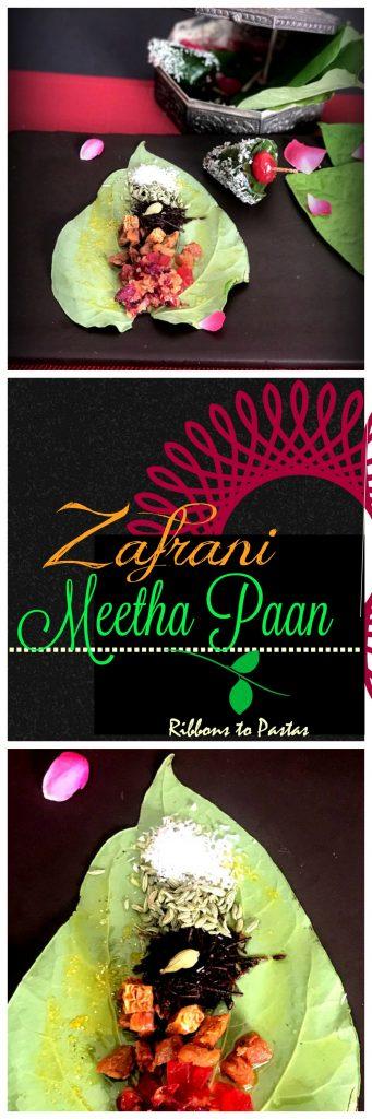 Zafrani Meetha Paan