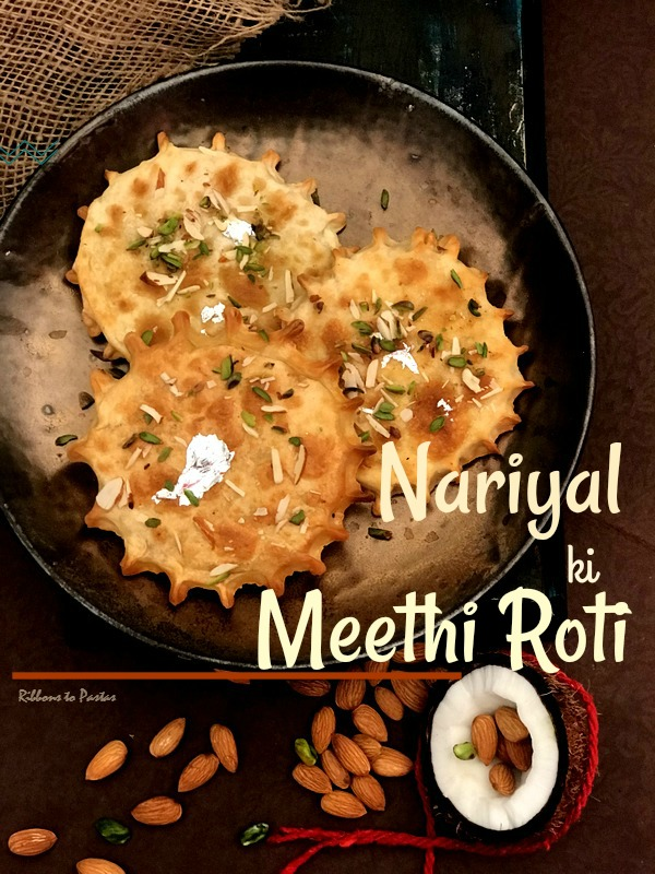 Nariyal ki Meethi Roti