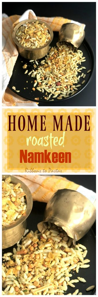 Home made Roasted Namkeen