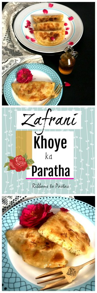 Zafrani Khoye ka Paratha