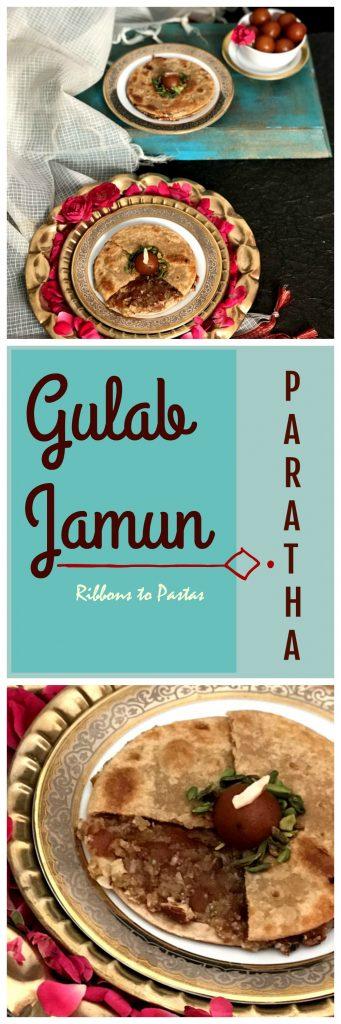 Gulab Jamun Paratha