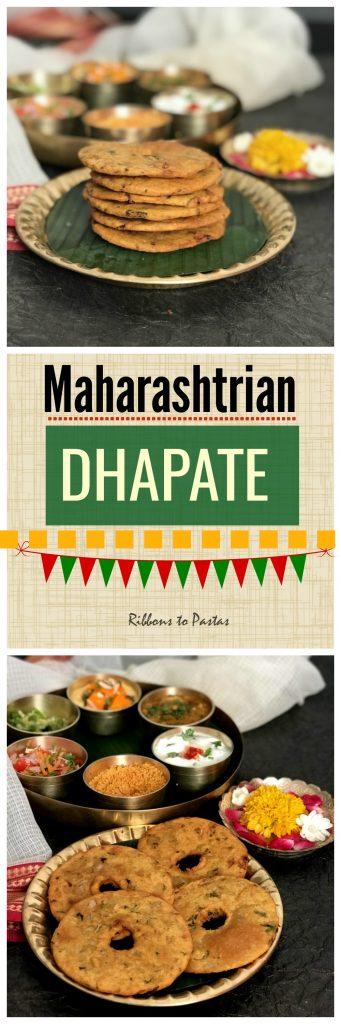 Dhapate , Maharashtrian bread