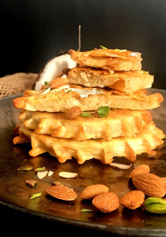 Nariyal ki Meethi Roti