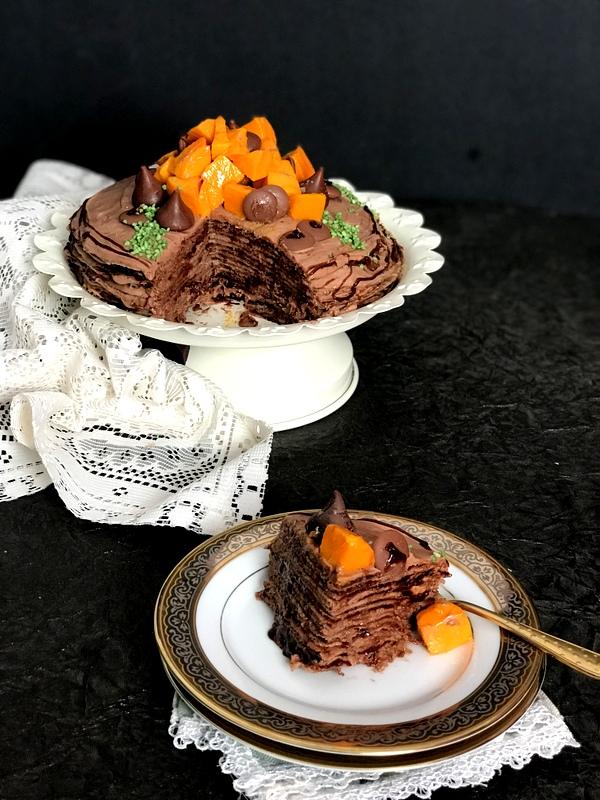 Chocolate Cake with Do Pad ki Roti