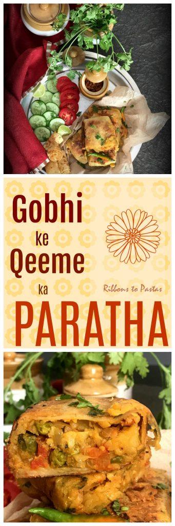Qeeme ke Parathe / Gobhi ke Qeeme ke Parathe