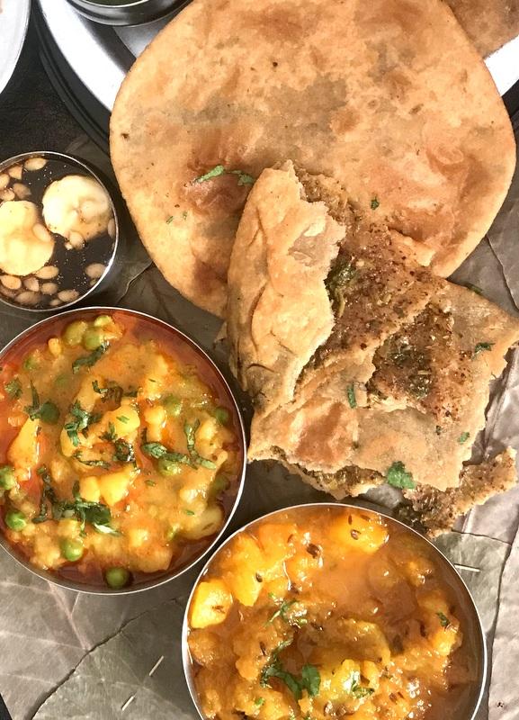 Elimuccai Paratha / Lemon Paratha