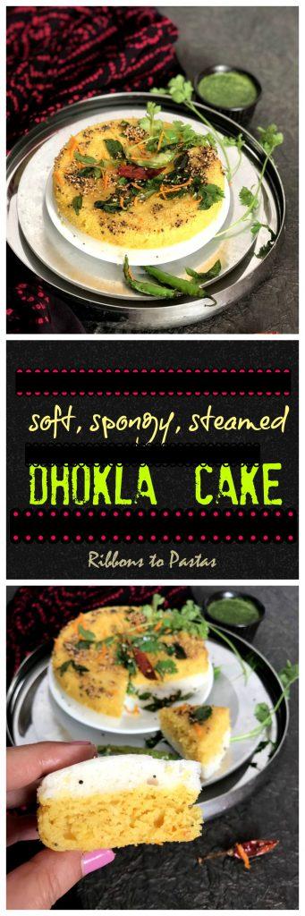 Dhokla Cake