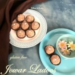 Jowar Ladoos with Rose Petals