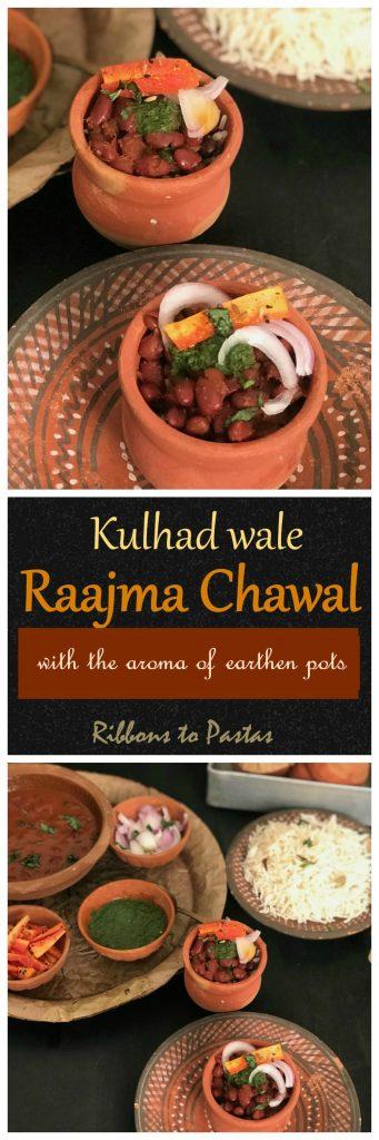 Kulhad wale Raajma Chawal