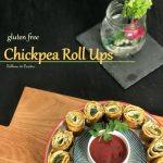 Chickpea Roll Ups - gluten free