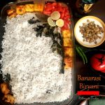 Banarasi Tandoori Biryani - biryani with roasted veggies