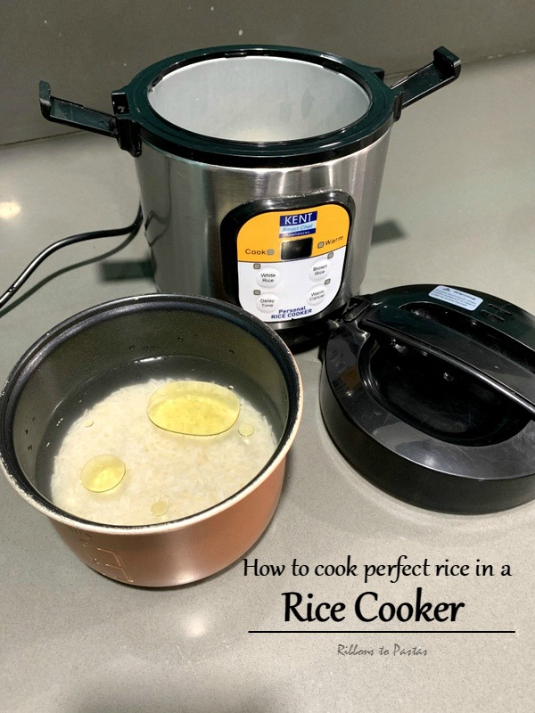 How to cook Perfect Rice in a Rice Cooker