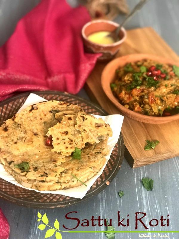Sattu ki Roti- Bihari gluten free bread