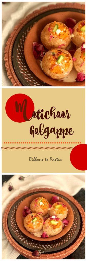 Motichoor Golgappe