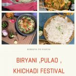 26 Rice Recipes at Biryani, Pulao and Khichadi Festival