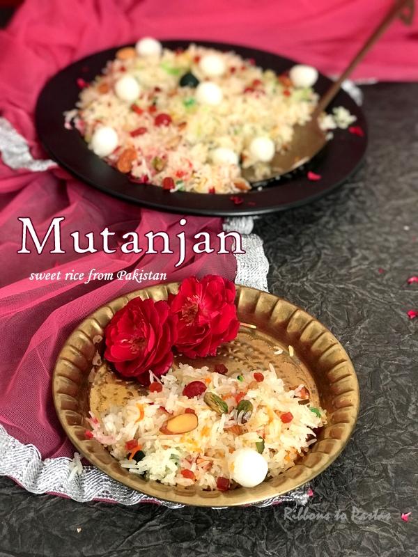 Mutanjan , sweet rice from Pakistan