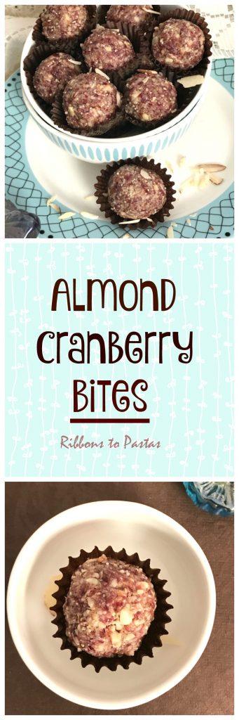 Almond Cranberry Bites