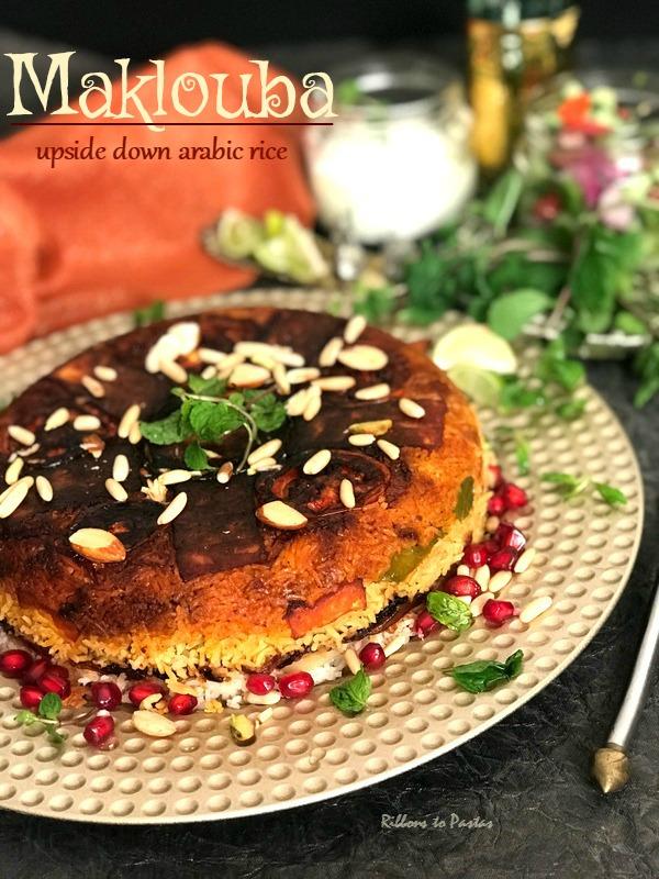 Maklouba - upside down Arabic rice